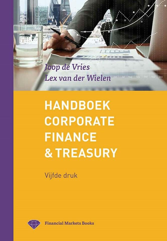 Handboek Corporate Finance & Treasury - 5e druk