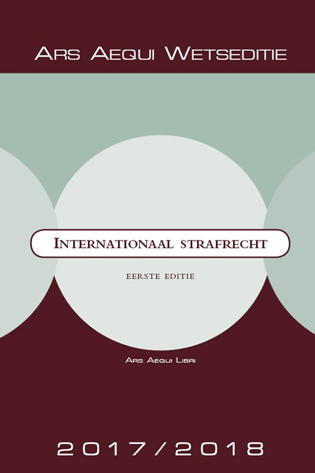 Internationaal strafrecht 2018/2019