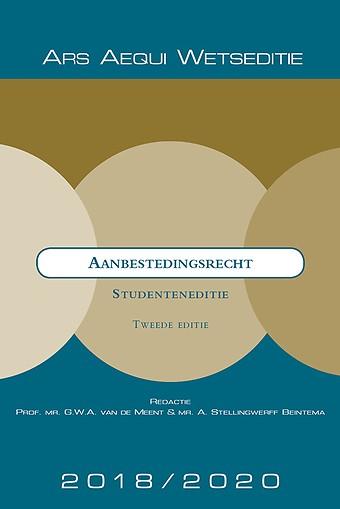Aanbestedingsrecht 2018/2020 - Studenteneditie