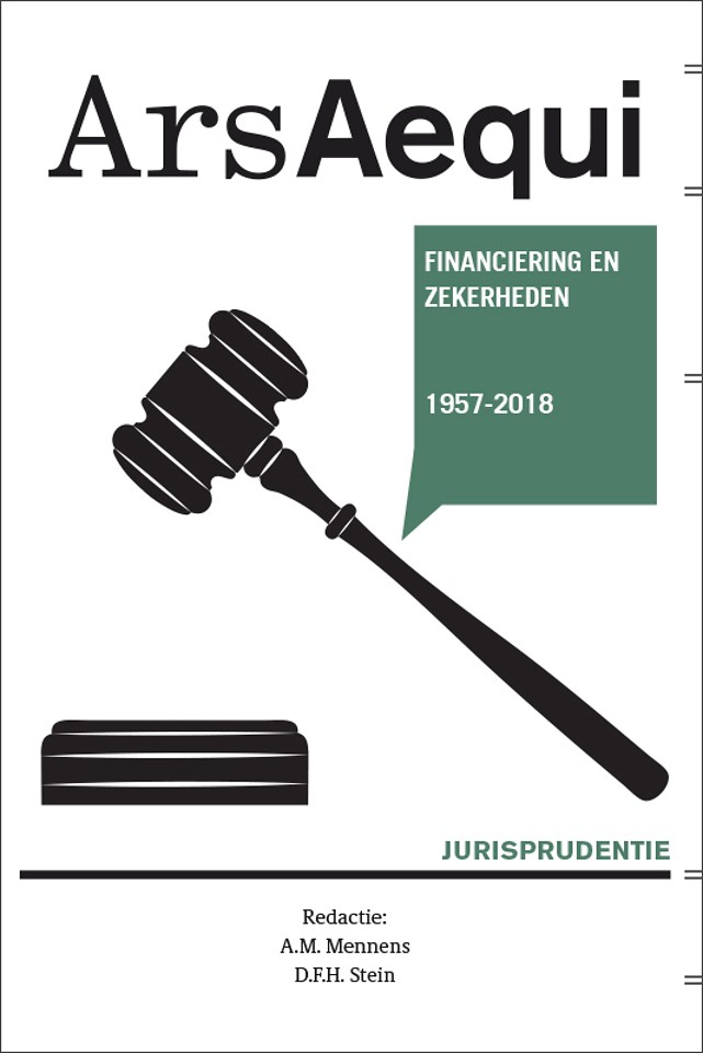 Jurisprudentie Financiering en zekerheden 1957-2018
