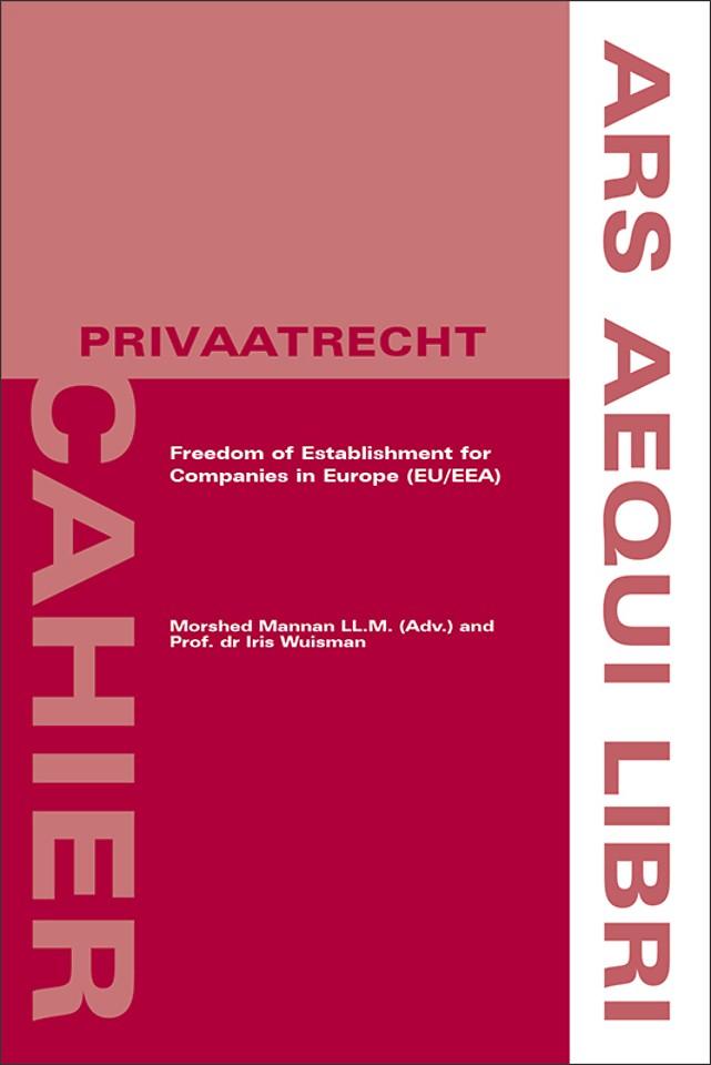 Freedom of Establishment for Companies in Europe (EU/EEA)