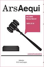 Jurisprudentie Inleiding Privaatrecht 1905-2019