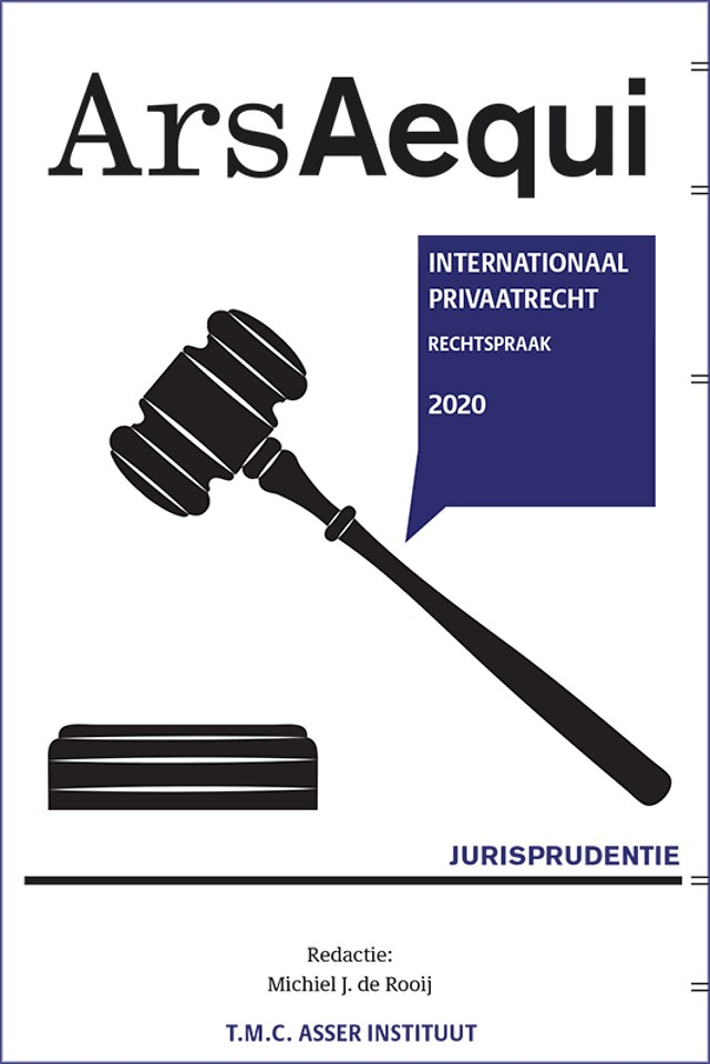 Jurisprudentie Internationaal Privaatrecht 2020