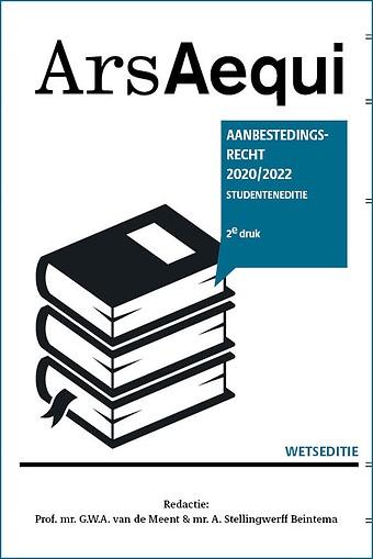Aanbestedingsrecht 2020-2022 Studenteneditie