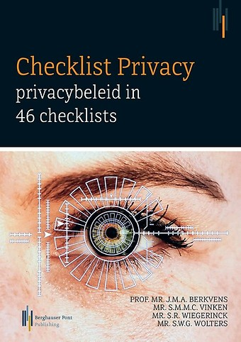 Checklist Privacy - privacybeleid in 46 checklists