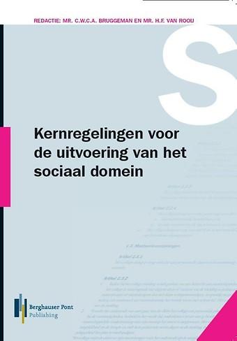 Kernregelingen voor de uitvoering van het sociaal domein 2018