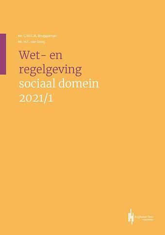 Wet- en regelgeving sociaal domein 2021/1