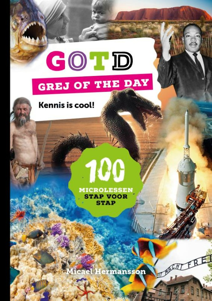 Grej of the day - kennis is cool