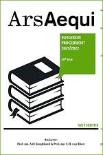 Burgerlijk procesrecht 2021/2022