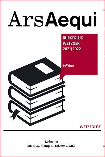 Burgerlijk Wetboek 2021/2022