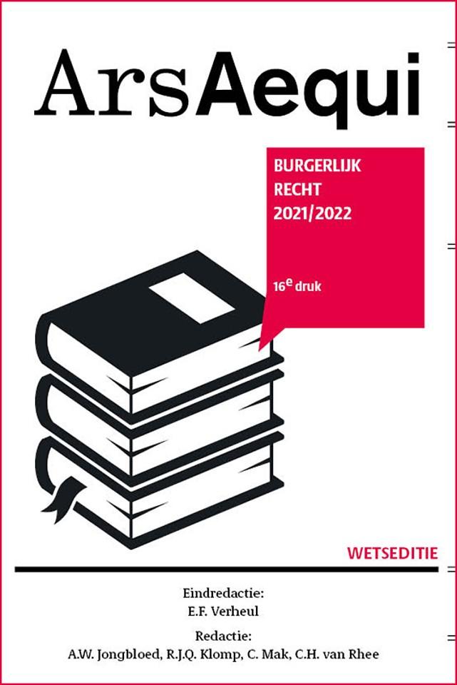 Burgerlijk recht 2021/2022