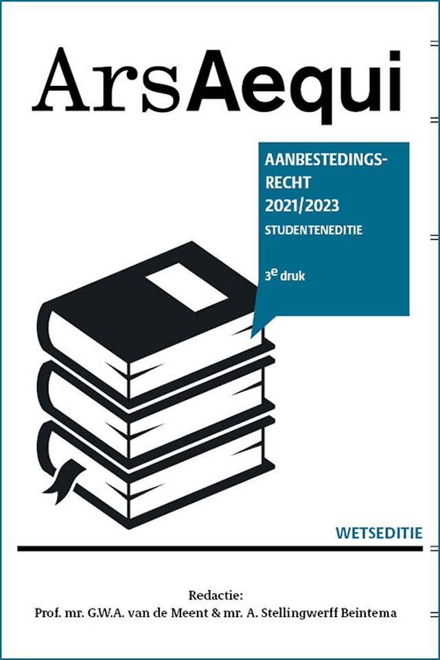 Aanbestedingsrecht 2021-2023 Studenteneditie