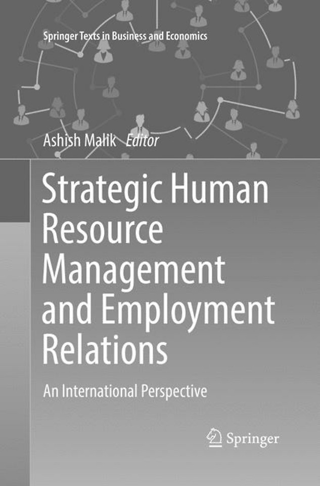 Strategic Human Resource Management and Employment Relations