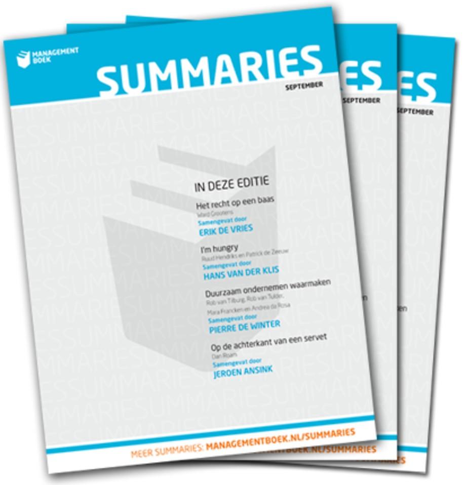 Abonnement Management Summaries - download only