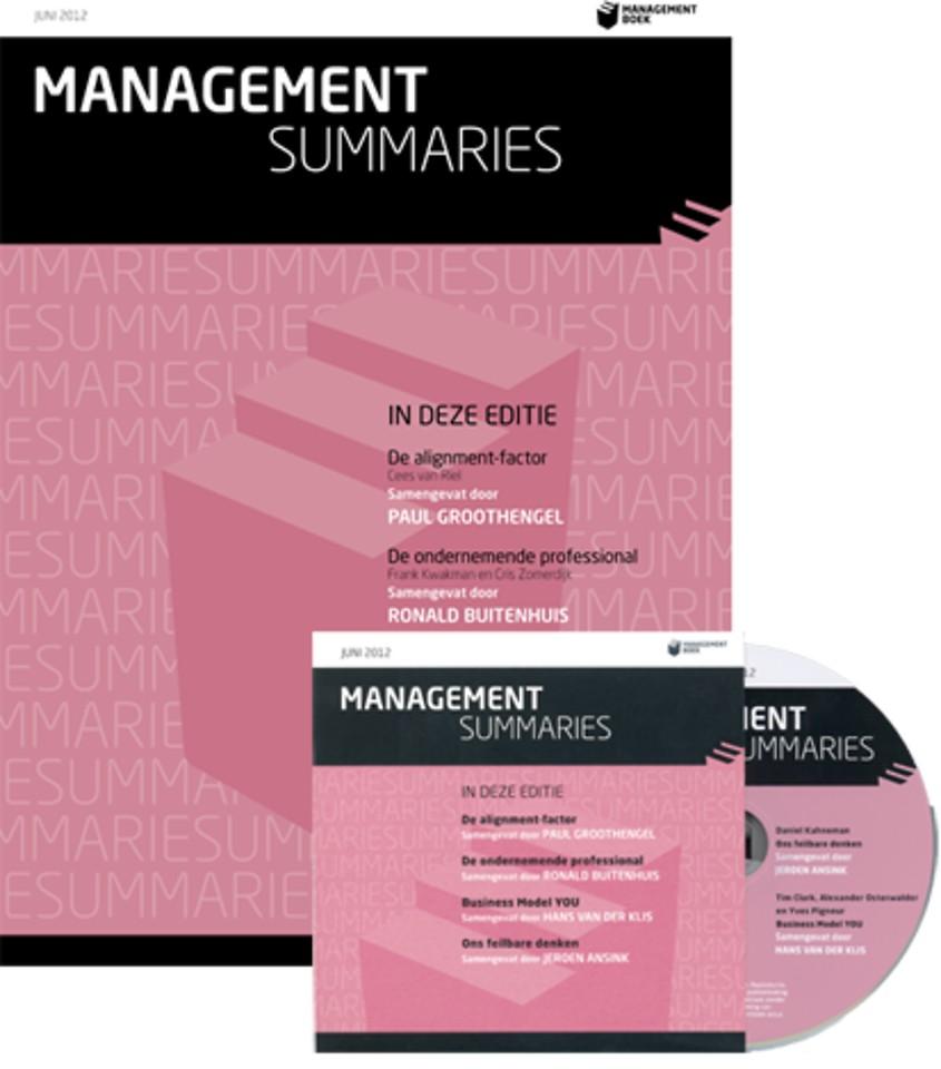Ons feilbare denken (Management Summaries)