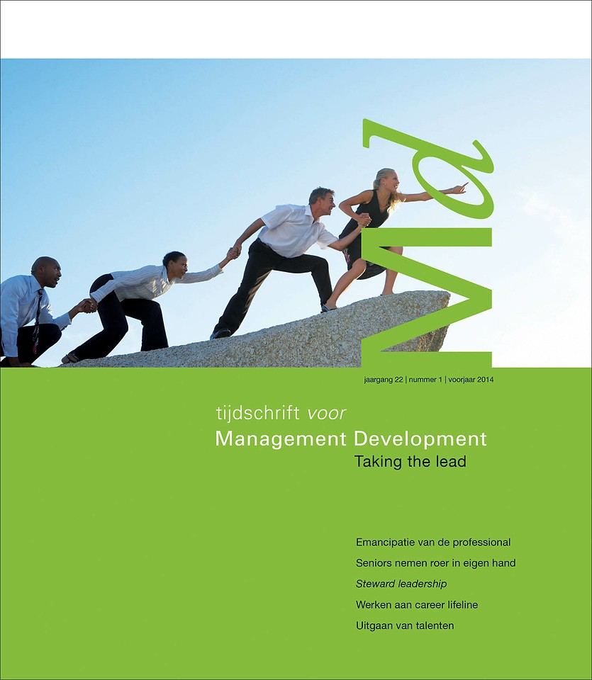 Themacahier Management Development voorjaar 2014 - Taking the lead