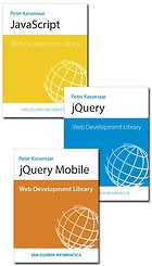 Pakket - Web development Library: JavaScript, jQuery en jQuery Mobile