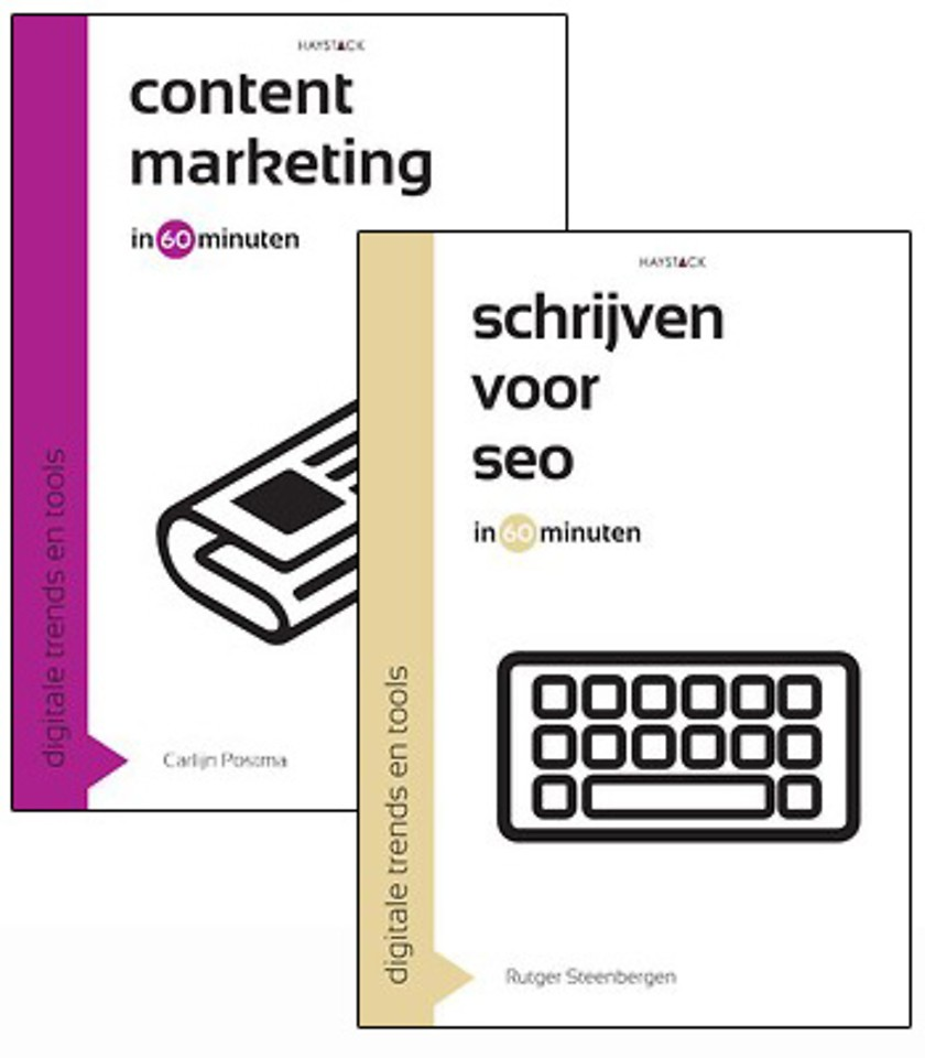Pakket Contentmarketing en Schrijven voor SEO in 60 minuten