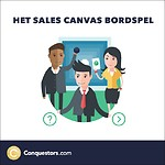 Het Sales Canvas bordspel