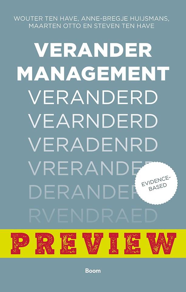 Verandermanagement veranderd - gratis voorpublicatie