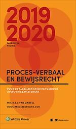 Zakboek Proces-verbaal en Bewijsrecht 2019-2020 - ALLEEN VOOR POLITIE