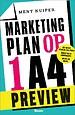 Marketingplan op 1 A4 - gratis voorpublicatie