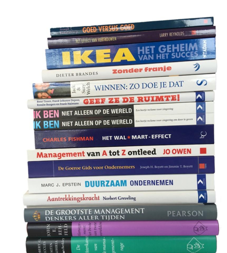 Actiepakket Management algemeen - 15 boeken