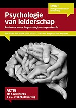 Seminar: Psychologie van leiderschap