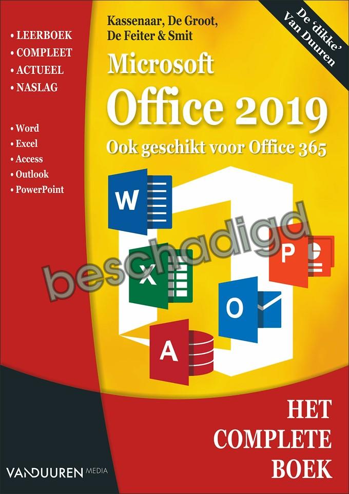 Het Complete Boek: Microsoft Office 2019 (licht beschadigd)