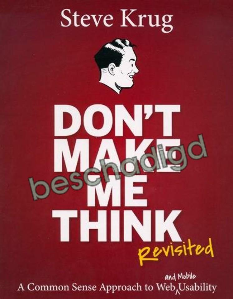 Don't Make Me Think! - Revisited (licht beschadigd)