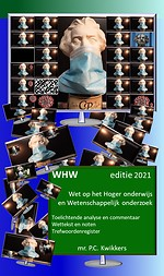 WHW editie 2021 - Wet op het Hoger onderwijs en Wetenschappelijk onderzoek