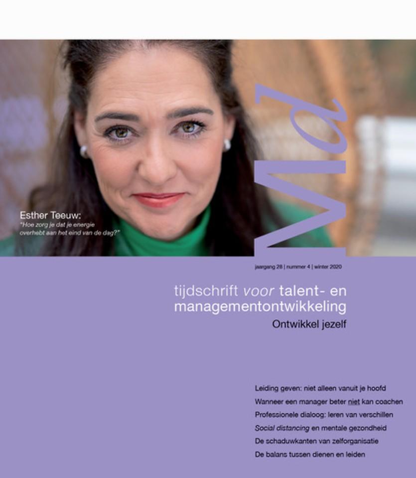 Tijdschrift voor talent- en managementontwikkeling - winter 2020 - Ontwikkel jezelf