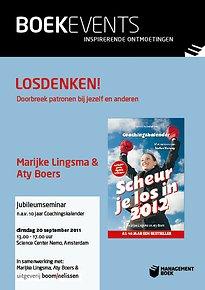 Jubileumevent - Losdenken! - dinsdag 20 september 2011